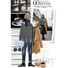 Untitled #2287 by stylejournals on Polyvore featuring polyvore, ファッション, style, Balenciaga, STELLA McCARTNEY, H&M, The Row, Arche, 7 For All Mankind, GE, CoffeeDate and 60secondstyle