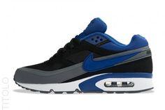 quality design 0b43b 850c1 Nike Air Classic BW Textile Black Deep Royal Dark Grey   www.