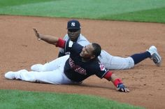 NEW YORK -- Cleveland Indians designated hitter Edwin Encarnacion was not in the starting lineup Sunday for Game 3 of the American League…
