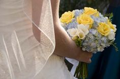 Yellow Rose Wedding Bouquet @Emily McInturff