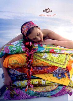 Hermes scarfs! adore!!