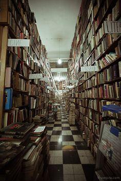 Librería de viejo en México