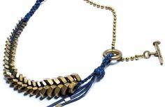 Cool Crafts You Can Make for Less than 5 Dollars | Cheap DIY Projects Ideas for Teens, Tweens, Kids and Adults | DIY Braided Hex Nut Bracelet | http://diyprojectsforteens.com/cheap-diy-ideas-for-teens/