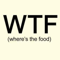 where is the food ?