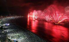 New Year Celebration: 15 Breathtaking Firework Photos