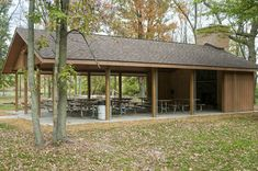 New Picnic Shelter With Fireplace Awaits Visitors At Bay City State Recreation…