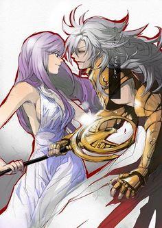 O Ultimo Movimento de Saga. Adeus Athena!