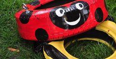 L'hiver s'en vient! Vous aurez à changer vos pneus d'été pour vos pneus d'hiver et peut-être que vos pneus d'été ne sont plus bons pour une saison de plus? Ne les laissez pas au garage. Ramenez-en au moins un pour en faire une balançoire! De la peint