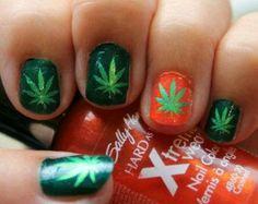 Uñas marihuana 1