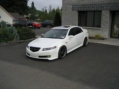 2005 Acura TL after market grill- No more shiny :D