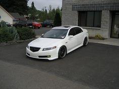 2005 Acura TL after market grill- No more shiny :D