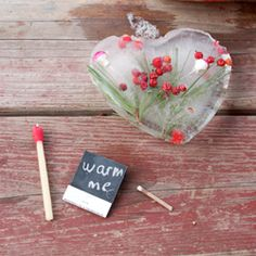 Little matchstick candles look adorable packaged in matchboxes that you are customized using blackboard paint.