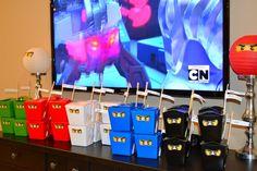 Lego Ninjago, ideas de la fiesta de cumpleaños Ninja   Foto 1 de 70   Catch My Party