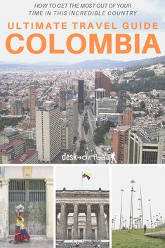 Planning on traveling to Colombia for your next vacation? You could spend a lifetime exploring the country, but here's a detailed travel guide to help you start. brought to you by Desk to Dirtbag. Visit Colombia, Colombia Travel, Brazil Travel, Argentina Travel, Backpacking South America, South America Travel, South America Destinations, Travel Destinations, Koh Tao