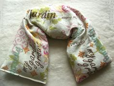 Flax Microwavable Pillow - Garden Inspired