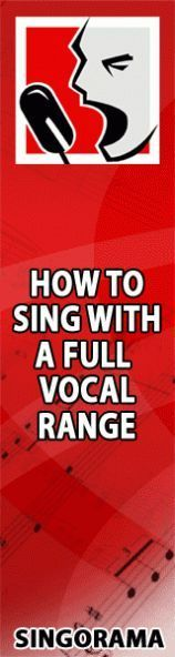 sing with full vocal range