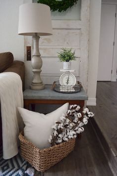 How to decorate with a vintage door in your home. If you love vintage decor I'm sure you love old doors and here's an idea of how to decorate with one. Farmhouse Style Decorating, Farmhouse Design, Interior Decorating, Old Screen Doors, Old Doors, Vintage Door Decor, Old French Doors, Small Attics, Basement Doors
