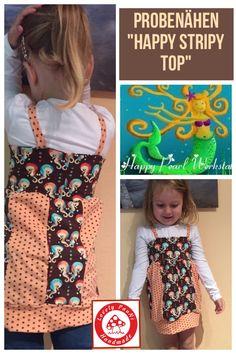 """Das """"Happy Stripy Top"""" von Happy-Pearl Shops ist online"""