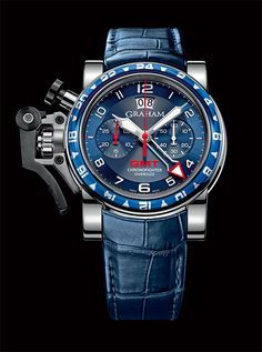 BEYOND DESIGN GRAHAM the Chronofighter Oversize GMT Blue (See more at: http://watchmobile7.com/articles/graham-chronofighter-oversize-gmt-blue) (1/4) #watches #graham #grahamlondon