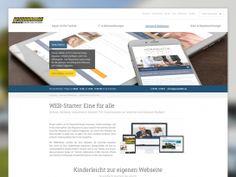 Webseite, Abteilungen