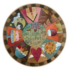 Lazy Susan- Pie piece design with icons in each piece and an enlarged center with sweet words Diy Projects For Kids, Fun Crafts For Kids, Creative Crafts, Arts And Crafts, Diy Crafts, Wood Projects, Diy Lazy Susan, Sticks Furniture, Arte Country