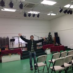 """This morning worship song was """"All in all"""" @Grace Christian Fellowship Tokyo with my dear friend Tom. Good to see you man! #GCF"""