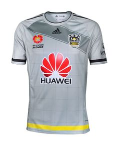 Wellington Phoenix Replica Away Jersey for season Polyester, interlock Hydrophillic Finish Club Badge Fully sublimated Sponsors and graphic Phoenix, Mens Tops, T Shirts
