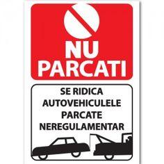 Indicator Nu parcati - Zona de aprovizionare