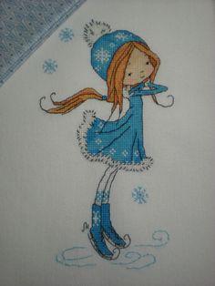(3) Gallery.ru / Figure skater - вышивка не по наборам - nikily81