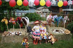 """Photo 26 of 70: Cowboy/Cowgirl, Toy Story, Woody and Jessie  / Birthday """"Maya's Jessie Cowgirl Howdown"""""""