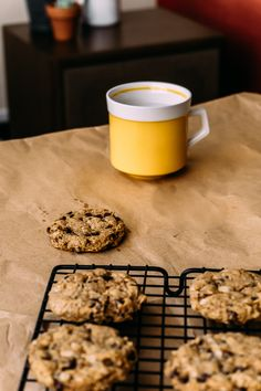 A Good Chocolate Chip Cookie {for my dad} | Faring Well | #vegan #recipes