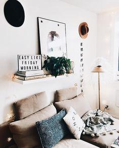 cute apartment decor // pin: chloeairplane