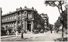 The National Bank of Cairo in 1910