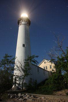 Leelanau County, Michigan light house