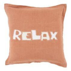 "Decor 140 Chill ""Relax"" Throw Pillow"