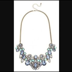 Baublebar 'Marine Contessa' Bib Necklace Beautiful statement piece purchased from BaubleBar. Worn lightly. BaubleBar Jewelry Necklaces