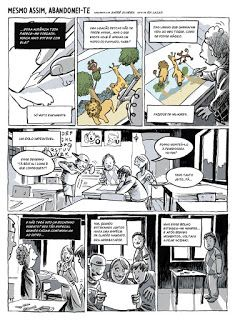 """""""Mesmo assim, Abandonei-te"""" (with Rui Lacas) page #1"""