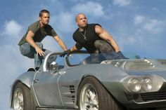 Paul Walker avec Vin Diesel dans Fast and Furious 5