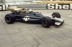Monaco GP in Monte Carlo. George Eaton in a BRM at the Gasworks Hairpin, Monaco GP, Monte Carlo, May (Photo by GPLibrary/Universal Images Group via Getty Images) F1 Racing, Indy Cars, Car And Driver, Vintage Racing, Monte Carlo, Grand Prix, Monaco, Race Cars, Cool Photos