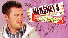 Irish People Taste Test Hershey's Candy