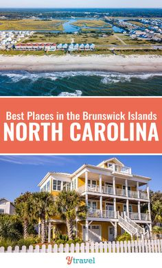 Thinking of a North Carolina beaches vacation? Consider the Brunswick Islands. Check out these highlights of a trip to Ocean Isle Beach, Sunset Beach, Southport, Holden Beach and Oak Island. #NorthCarolina #travel #beaches