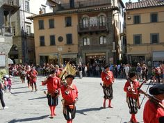 Cortona - Giostra dell' Archidado. Each year the first week of June
