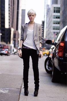 Style Icons: Kate Lanphear, Patti Smith, and Rihanna Look Fashion, Girl Fashion, Fashion Outfits, Womens Fashion, Looks Style, Style Me, Kate Lanphear, Estilo Tomboy, Fashion Editor