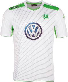 Wolfsburg Away  Bundesliga14 15 Cheap Football Shirts 8f75c76b6a472
