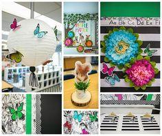 Welcome Class Room Door Ideas Products Ideas Paper Tree Classroom, Classroom Walls, Classroom Crafts, Classroom Design, Classroom Themes, Butterfly Classroom Theme, Infant Classroom, Science Classroom, Kindergarten Classroom