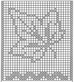 Crochet Leaf Patterns, Crochet Leaves, Crochet Blocks, Crochet Doilies, Filet Crochet Charts, Crochet Diagram, Knitting Charts, Bobble Crochet, Crochet Cross