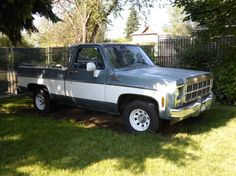 Autotrader Clics 1980 Gmc Other Models Truck Blue 8 Cylinder Automatic 2 Wheel Drive