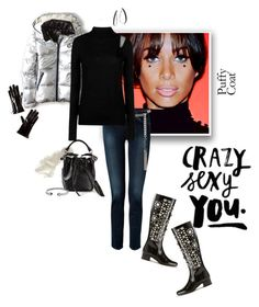 """""""Crazy Sexy You"""" by ddw22 ❤ liked on Polyvore featuring American Eagle Outfitters, Yves Saint Laurent, 7 For All Mankind, Armani Jeans, David Yurman, IaM by Ileana Makri, John Hardy and Prada"""