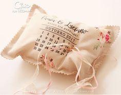 Porta-Aliança Calendário da Chic no Último! Coisa mais perfeita para casamento rústico. Gostou? Quer comprar? Clique aqui!