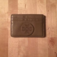 Brand New Tory Burch Tan Card Case Brand New, never been used Tory Burch Tan Card Case Tory Burch Bags Wallets
